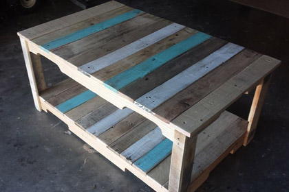 Pallet Coffee Table Astra