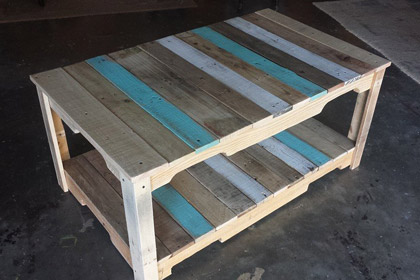 Pallet Coffee Table Astra 1