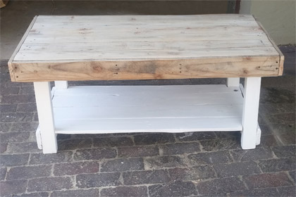 Pallet Coffee Table Continental