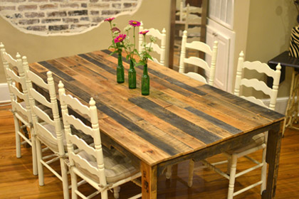 Pallet Dining Table 1